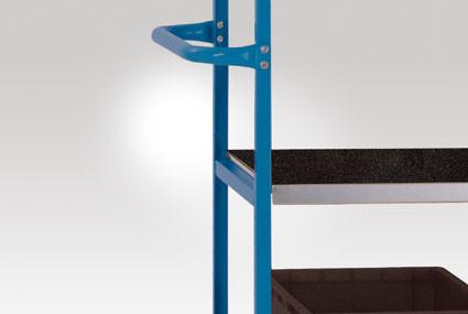 Stahlfachböden für ESD-Etagenwagen Varimobil