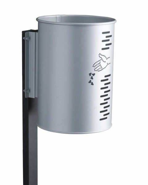 Pfosten für drehbaren Abfallbehälter