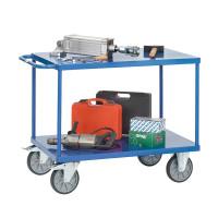 Schwere Tischwagen Ladefläche aus Stahlblech 500 / 850