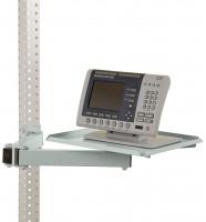 Ablageboard für MULTIPLAN Arbeitstische Lichtgrau RAL 7035 / 570