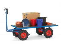 Handpritschenwagen ohne Wände, Luft-Bereifung 1000 / 1600 x 900