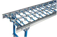 Röllchenbahnen mit verzinkten Röllchen, Bahnbreite 500 mm 50 / 3000