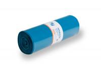 Abfallsäcke, LDPE mit 120 Liter Volumen Blau / 100