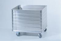 Deckel anscharniert für Aluminiumkastenwagen 500 / 900