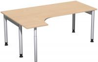 Hagen PC-Schreibtisch, Breite 1800 mm Buche / Links