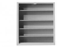 Ordnungsregal, HxBxT: 780 x 690 x 285 mm 4 Fachböden, zur Selbstbestückung