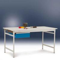 Einzelschubfach BASIS Ohne Zylinderschloss / Lichtgrau RAL 7035