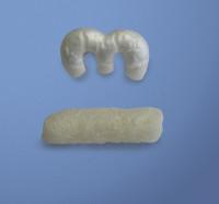 Füllmaterial in zylindrischer Form