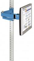 Monitorträger 100 / Lichtblau RAL 5012