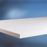 Arbeitstischplatte PVC weißgrau 22 mm 1000 / 800