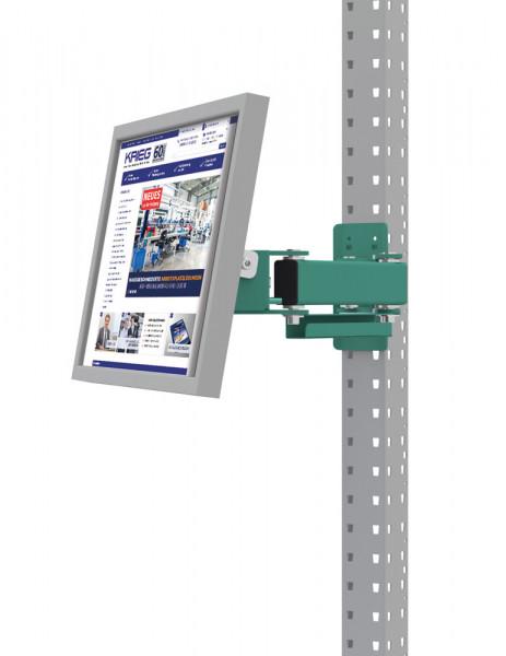 Monitorträger für MULTIPLAN / PROFIPLAN, Doppelgelenk 500 mm