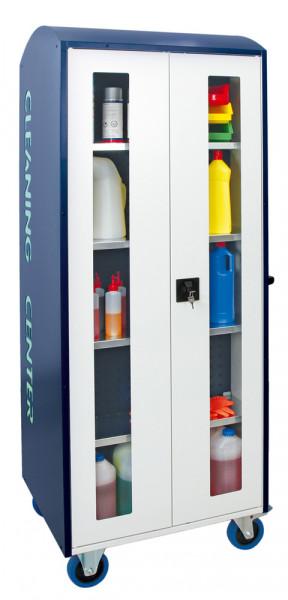 Mobile Abfall- und Reinigungsstationen, Modell 6