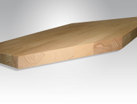 Werkbankplatte Buche massiv 40 mm 1000 / 700