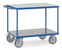 Tischwagen mit Hart-PVC Plattformen 850 x 500