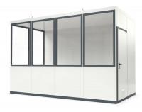 Raumsystem Innenbereich, ohne Fußboden 4045 x 2045