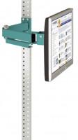Monitorträger leitfähig 100 / Wasserblau RAL 5021