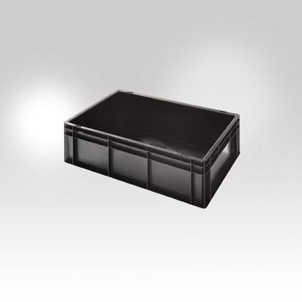 Auflage-Deckel für Euronorm Stapelbehälter leitfähig