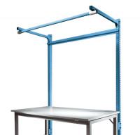 Stahl-Aufbauportale mit Ausleger Anbaueinheit Spezial/Ergo Brillantblau RAL 5007 / 1500