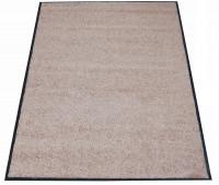 Waschbare Schmutzfangmatte Beige / 1800 x 1200