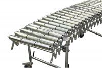 Scheren-Rollenbahnen mit Stahlrollen 1900 - 4400 / 300