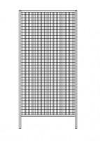 Variables Eckelement für Trennwand-System Maschinenschutz