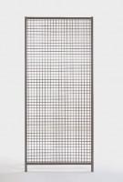 Aufsatz Schiebetür Füllung mit Acrylglas Drahtgitter