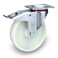 Lenkrolle mit Doppelstopp aus Polyamid 150 / 210