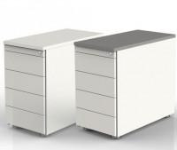 Palma Anstellcontainer Weiß