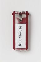 Key Clip Schlüsselanhänger Rot