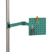 Werkzeugträgerplatten mit Doppelgelenk Schwenkausleger Graugrün HF 0001 / 700
