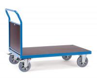 Schwerlast-Plattformwagen Stirnwand aus Holz / 1200 x 800