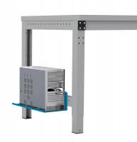 Mini-CPU-Halter für MULTIPLAN / PROFIPLAN Lichtblau RAL 5012