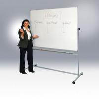 Wendetafel mit Stahlgestell Kunststoffbeschichtet / 1200 x 1500