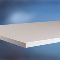 Arbeitstischplatte Kunststoff lichtgrau 22 mm 1500 / 1200