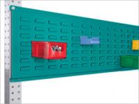 Werkzeug-Schlitzplatten für Stahl-Aufbauportale Wasserblau RAL 5021 / 1750