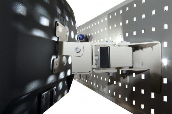 Monitor-Halter für Werkzeug-Halterplatte, VESA 75/100 mm