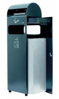 Abfallbehälter mit Ascher 300