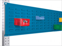 Werkzeug-Schlitzplatten für Stahl-Aufbauportale Brillantblau RAL 5007 / 1750
