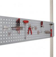 Werkzeug-Lochplatten für PACKPOOL mit Tischbreite 2000 mm 2000 / Alusilber ähnlich RAL 9006