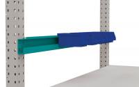 Boxenträgerschiene für MULTIPLAN / PROFIPLAN Wasserblau RAL 5021 / 1500