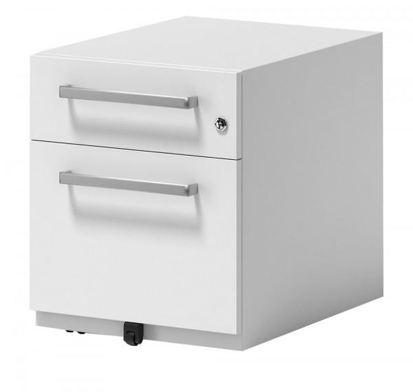 Rollcontainer mit Griff H x B x T 495 x 420 x 775 mm, 1 Fach
