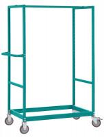 Leichter Grundrahmen für Etagenwagen Varimobil, Höhe 1650 mm 1000 x 600 / Lichtgrau RAL 7035
