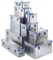 Aluminium-Universalboxen - die stabilen 60