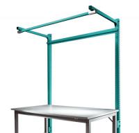 Stahl-Aufbauportale mit Ausleger Anbaueinheit Spezial/Ergo Wasserblau RAL 5021 / 1500