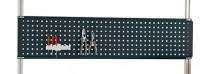 Werkzeug-Lochplatten für Alu-Aufbauportale Anthrazit RAL 7016 / 1500