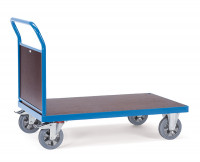 Schwerlast-Plattformwagen Stirnwand aus Holz / 1600 x 800