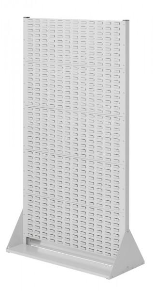 Stellwand mit Sichtlagerkästen, Doppelseitige Nutzung, Höhe 1790 mm