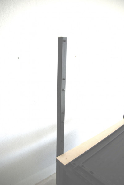 Tisch-Halterung für Loch- und Schlitzplattensystem