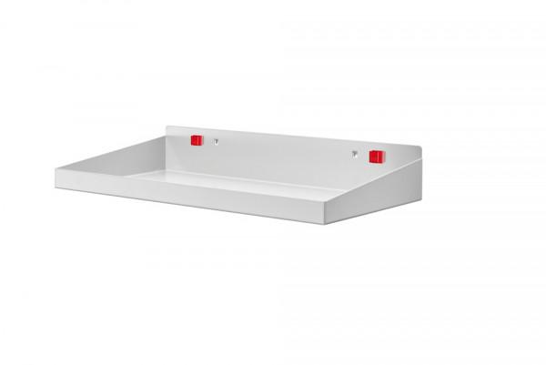 RasterPlan/ABAX Stahlboden mit Abrollrand