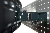 Monitor-Halter für Werkzeug-Halterplatte, VESA 75/100 mm Anthrazit RAL 7016